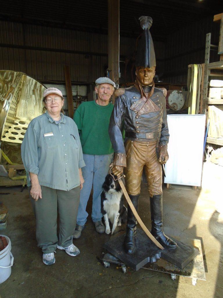 Doris Park, Stephen Maxon Statue