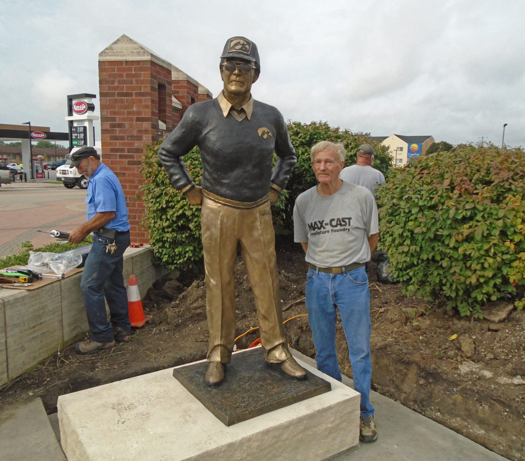 Commission City of Coralville, Iowa Hayden Fry