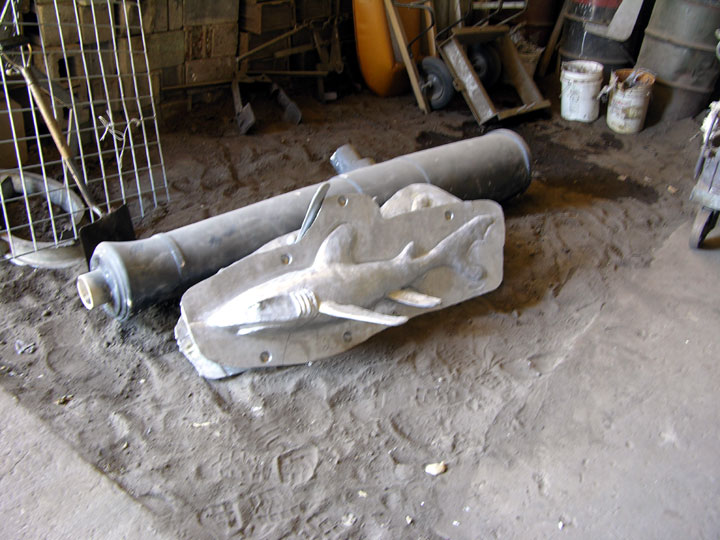Patterns for Shark and a Spanish Cannon, Max-Cast