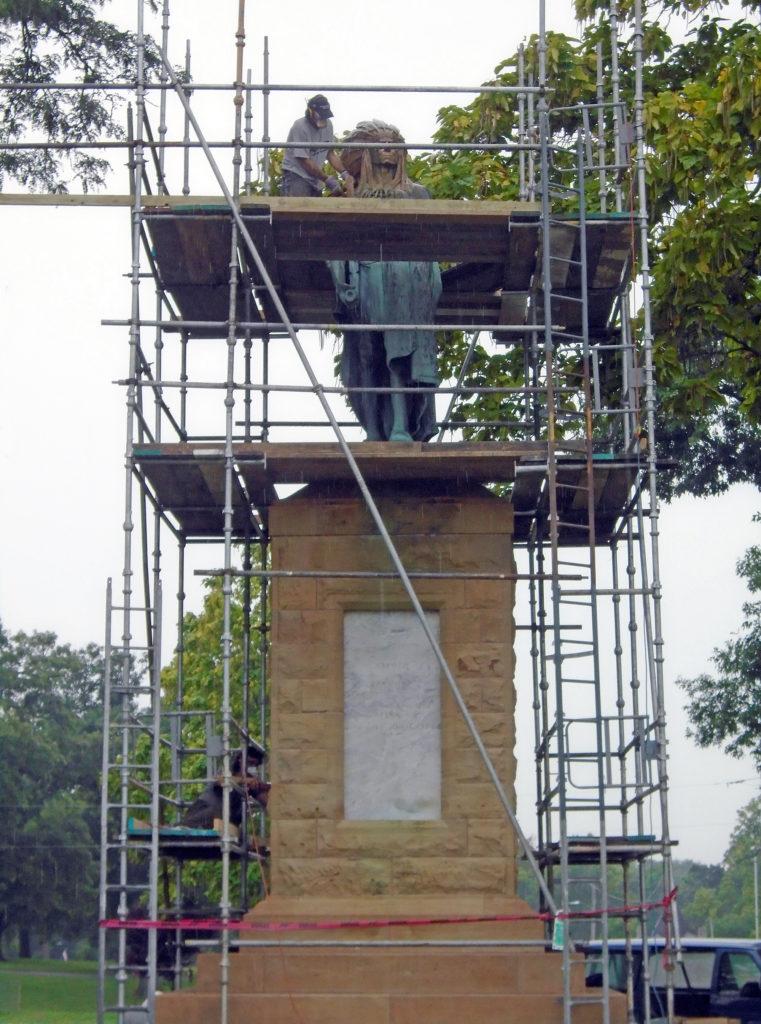 Restoration Chief Keokuk, Keokuk, Iowa, Max-Cast